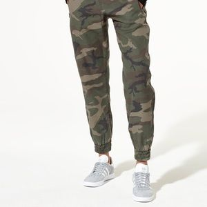 Aritzia camouflage pants